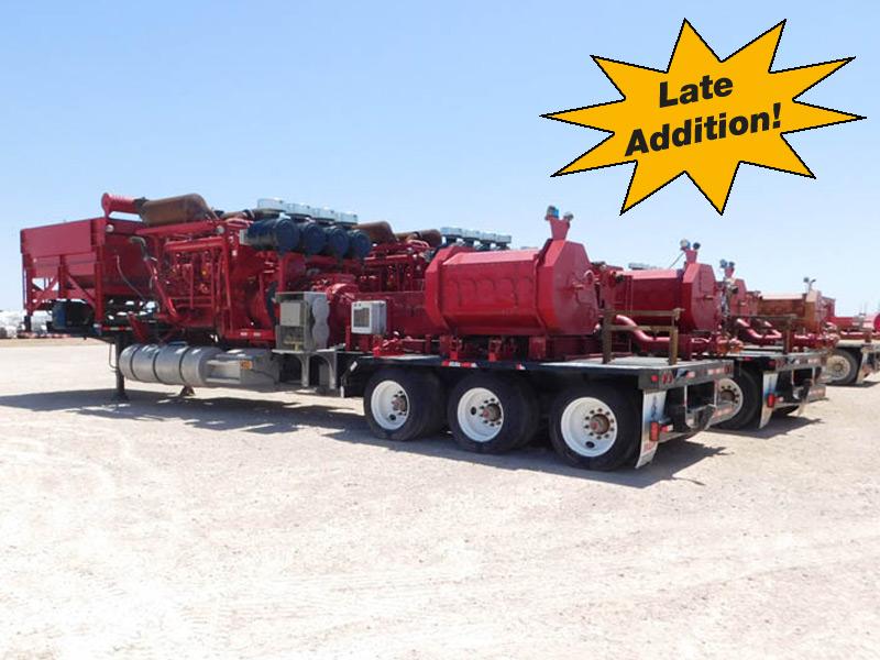 (4) 2015 DRAGON 2500HP Frac Pump Units – DY2 YD1