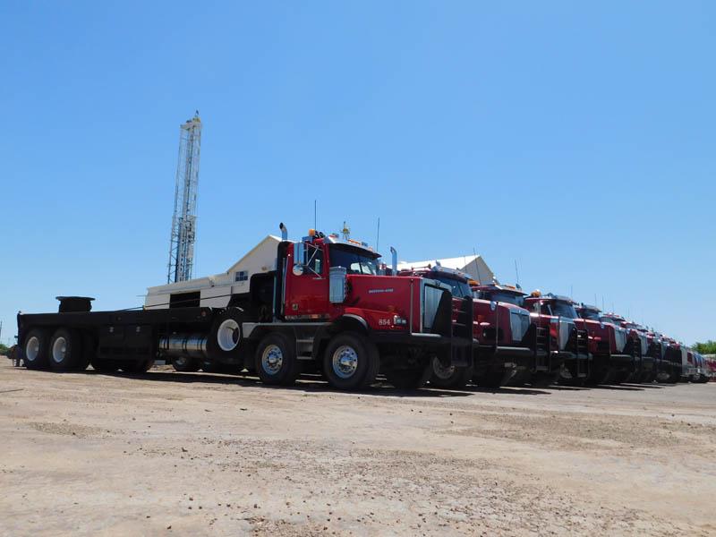 Oilfield Rig-Up Trucks – DY1 YD2