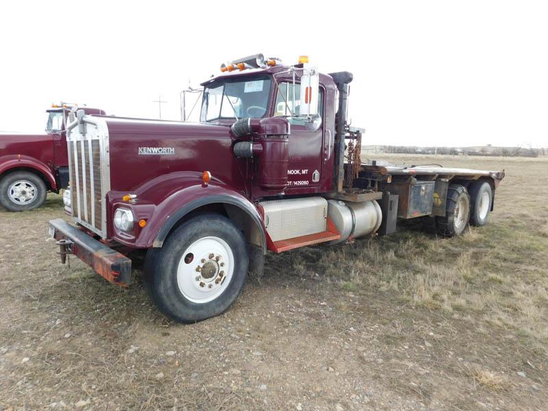 KENWORTH W922 Winch Tractor – YD2