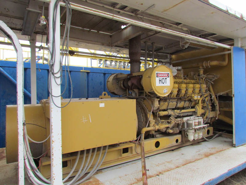 (1 of 2) 1200KW / CAT 3512B – YD8