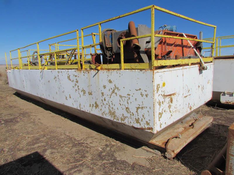 Rig #4 300-Bbl Mud Shaker Tank – YD2