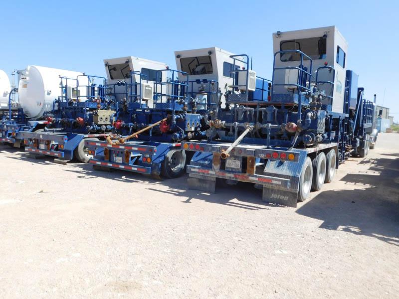 (4) OFM 600S Nitrogen Dbl Pump Units – DY1 YD3