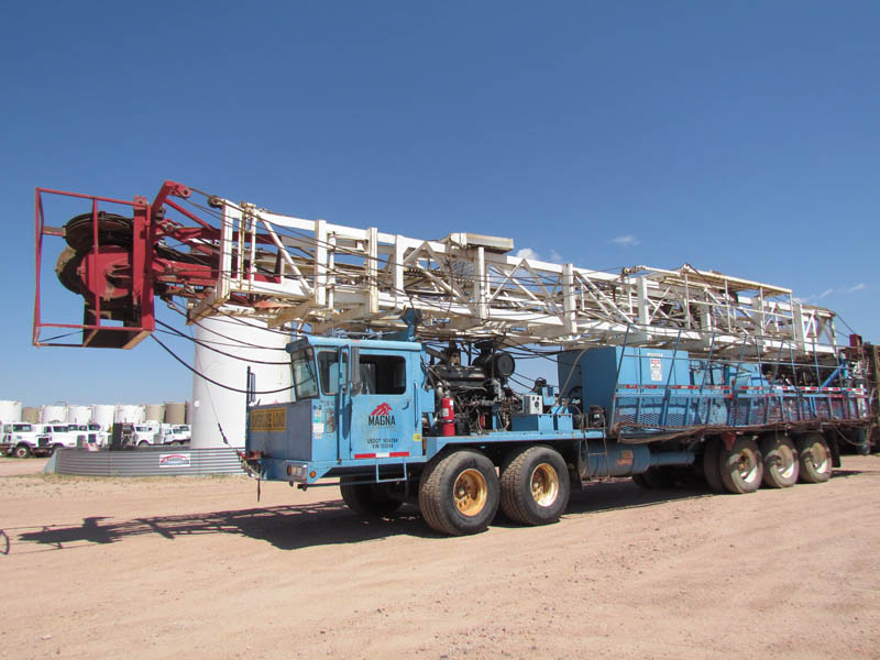(1 of 2) WILSON 42 Well Service Rigs – YD3