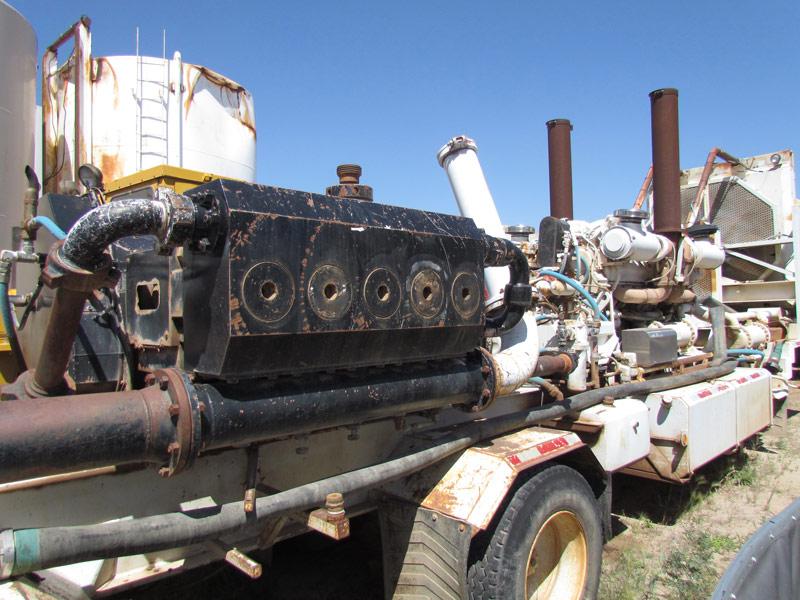 G.DENVER J24000 Quintuplex Pump – YD3