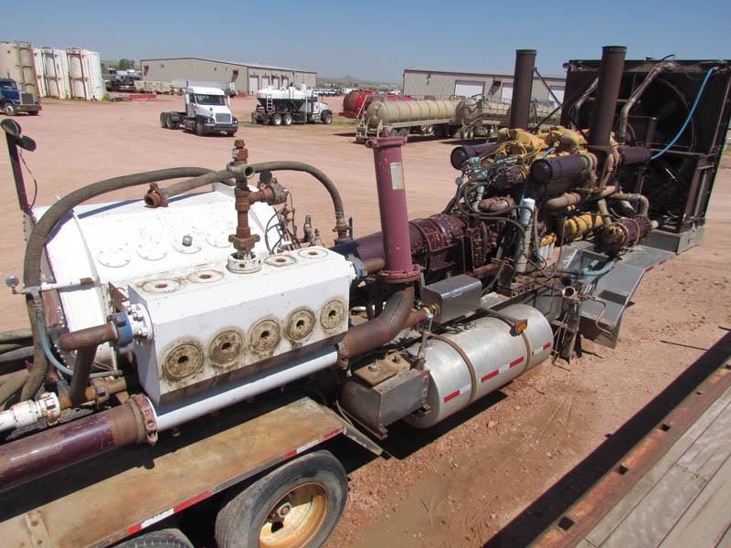 G.DENVER 25000 Quintuplex Frac Pump – YD3