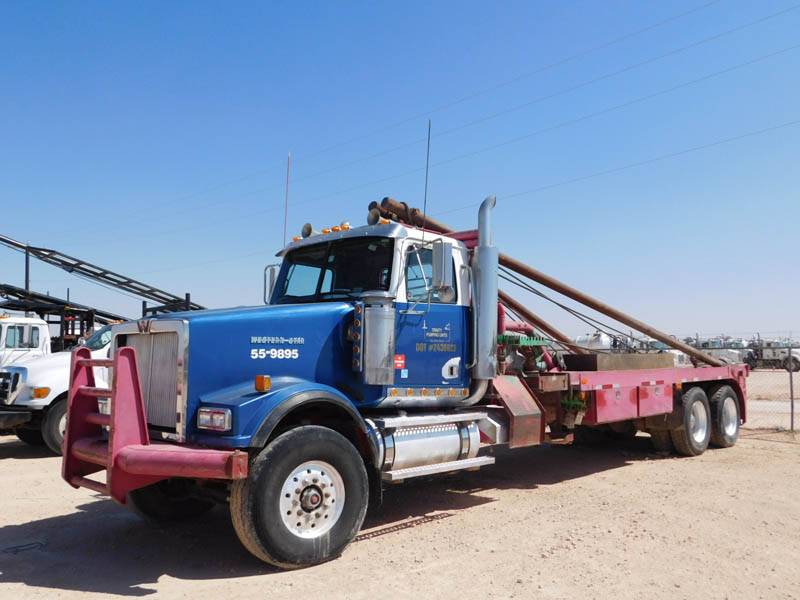 "'06 WESTERN STAR Rig-Up Truck w/355""WB – YD2"