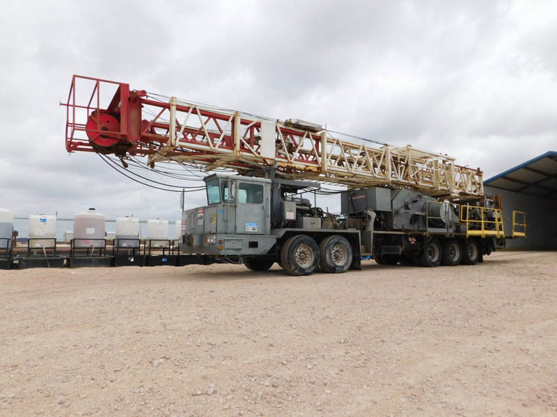 (1 of 2) 2008 EAGLE Well Service Rigs – YD1