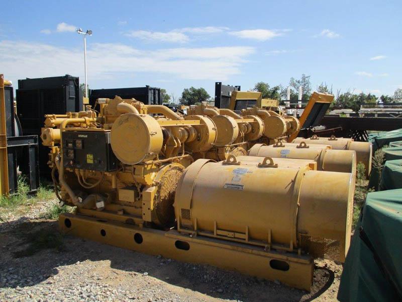 (3) UNUSED 902KW/3508 Generators – DY2 YD17