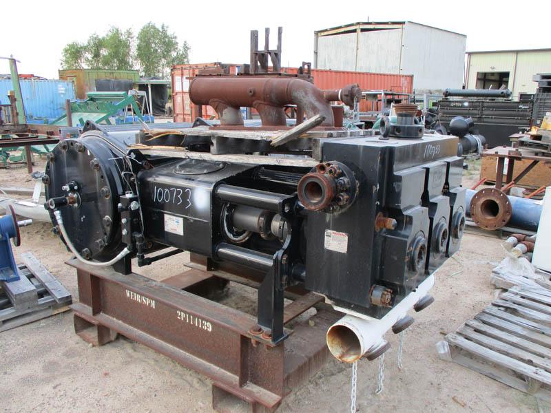 2012 WEIR SPM OWS2500SD Pump