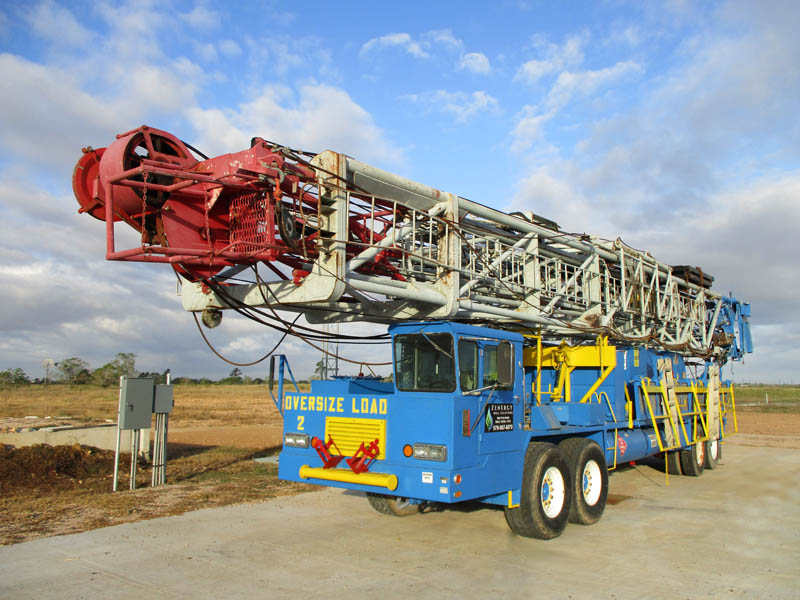 FRANKS 1287/160 Well Service Rig