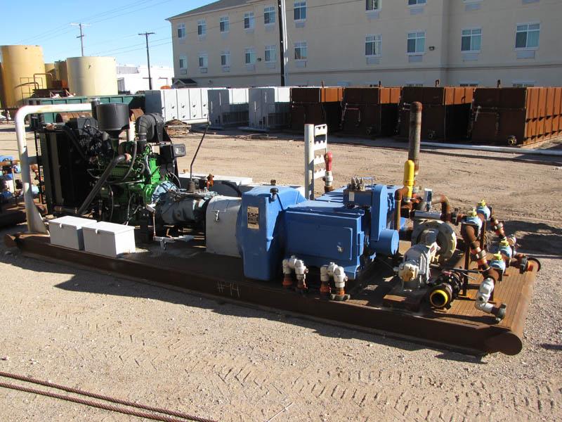 UNUSED N.O.V. JWS-340 Triplex Pump – DY1 YD1