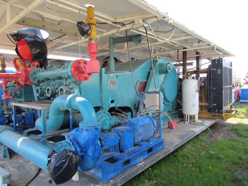 F-1600 Triplex Pump – DY2 YD5