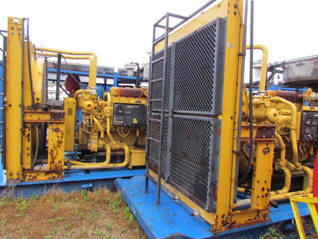 (2 of 6) CAT 3512's w/Torque Converters – YD1