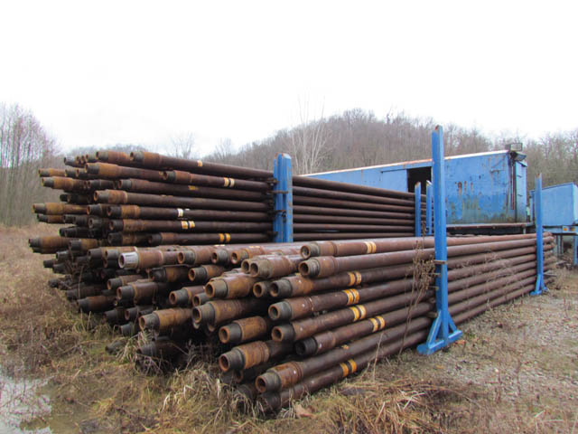 """9,548' 5"""" G-105 R-2 Drill Pipe, 3-Holes Since NEW! – YD4"""