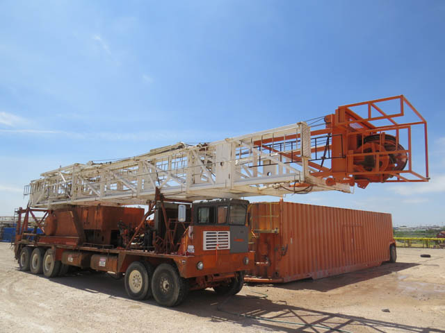 COOPER Well Service Rig