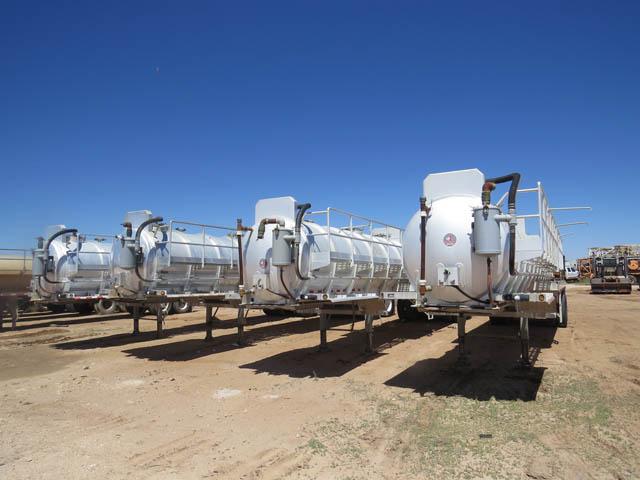 (4 of 70) 150-Bbl Aluminum Vacuum Trailers