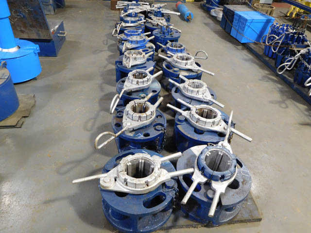 100-Ton Tubing Spiders