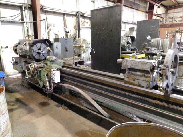 "(1 of 2) LEHMANN Power Torque 20"" Hollow Spindle Lathe"