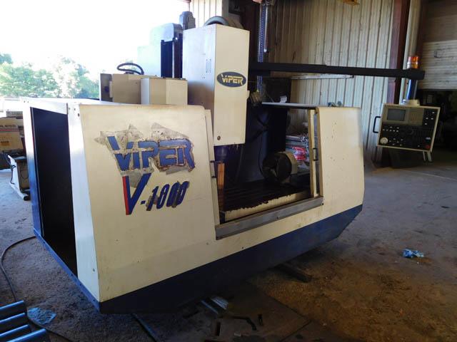 VIPER V1000 CNC Vertical Machine