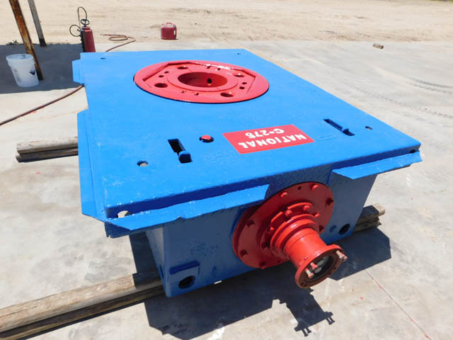 NATIONAL C-275 Rotary Table – DY2 YD1