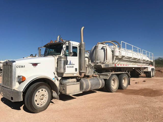 2012 PETE Vacuum Truck – DY2 YD1
