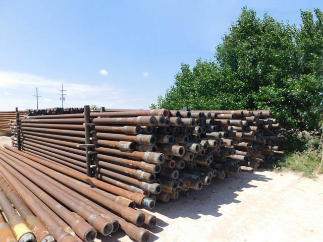 """Inspected 4-1/2"""" S-135 Drill Pipe – DY1 YD1"""