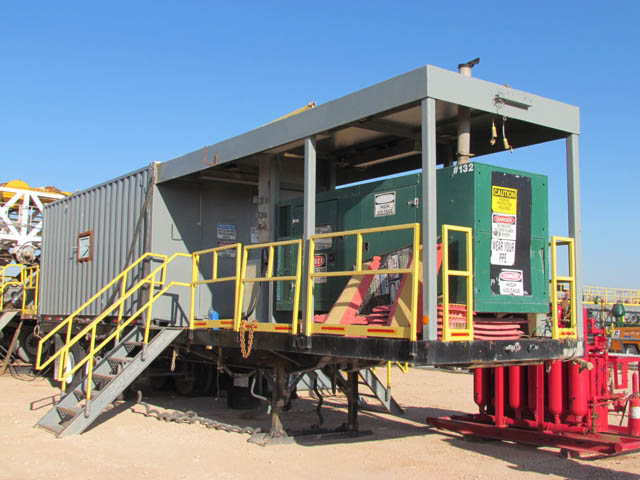 Rig #4 Generator House – DY1 YD3
