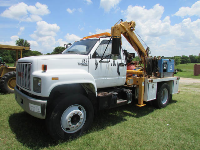 '92 CHEVY Service Truck – DY2 YD3