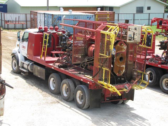 2014 M/R FAB 120K Snubbing Unit - D1 YD12
