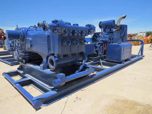 G.DENVER PAH Triplex Pump - D1 YD1