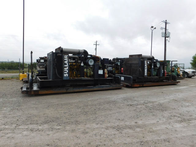 (4) SULLAIR 1150XHDL Air Compressor - D2 YD1