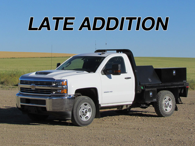 2016 CHEVROLET Roustabout Truck – DY1 YD5