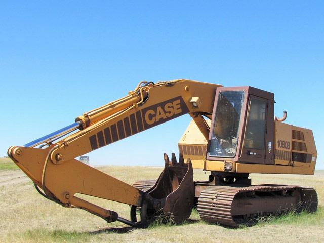 CASE 1080B Excavator – DY1 YD5