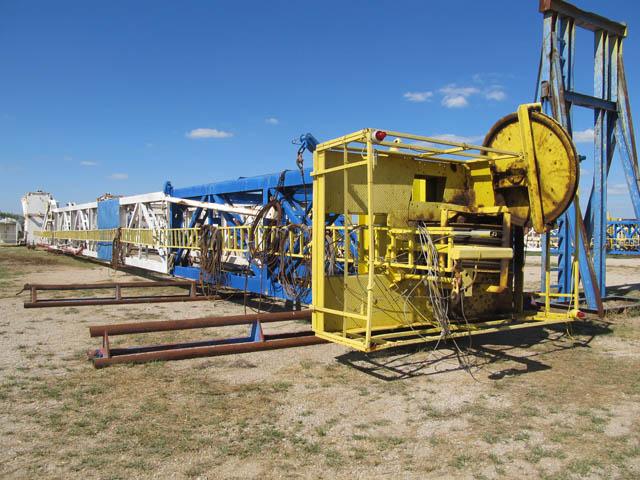 DRECO 142'H 750K Mast – DY2 YD2