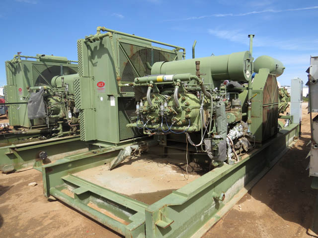 (1 of 4) AJAX YK11 Gas Compressors – DY2 YD1