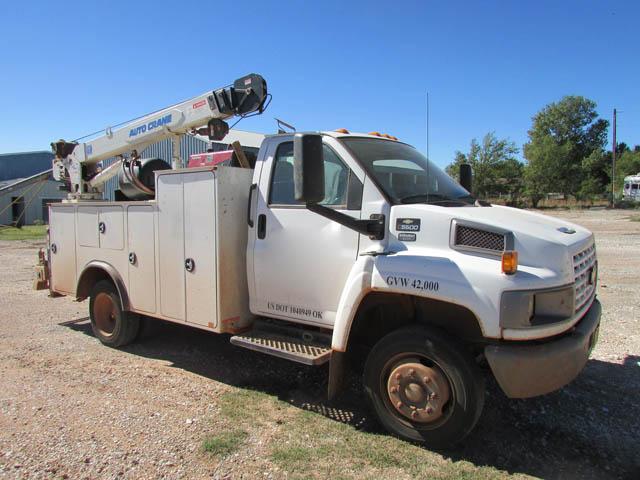 CHEV C5500 Service Truck – DY1 YD4