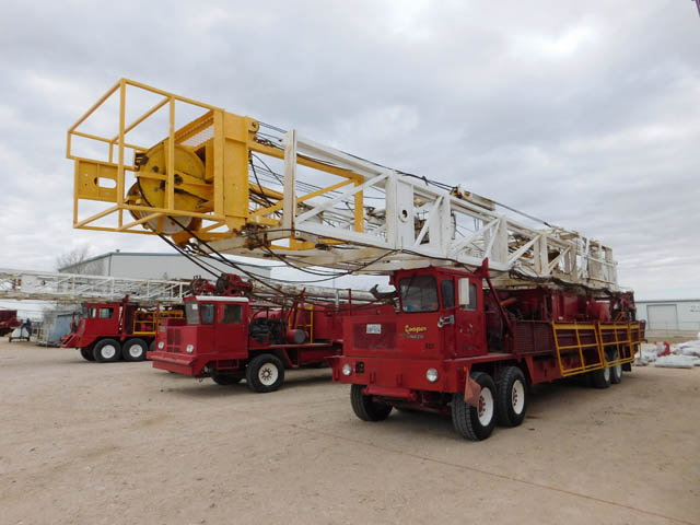 COOPER LTO-350 Well Service Rig – YD1