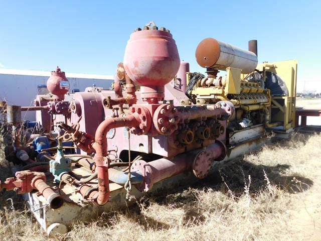 (1 of 2) F-1000 Triplex Pump – YD4