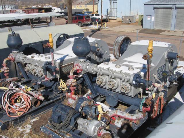 (2) EWECO E-1300HP Pumps – YD10