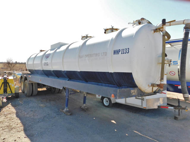 OVERLAND 130-Bbl Vacuum Trailer – YD1