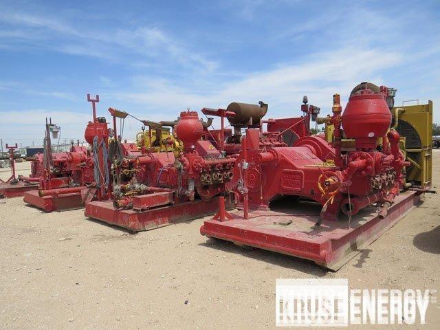 (4) G.DENVER PZ-8 Triplex Pumps– DY2 YD1