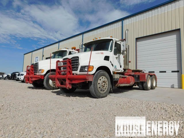 (2 of 6) 2007 MACK Granite Winch Trucks – DY2 YD1