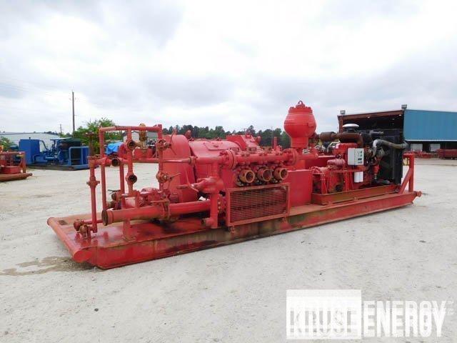 C. EMSCO F-350 Triplex Pump – DY1  YD8