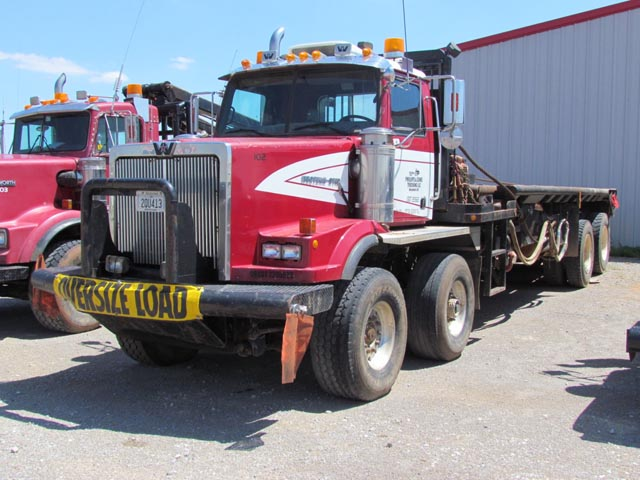 '97 W-S 4-Axle Twin-Steer Rig-Up Pole Truck – DY2 YD11