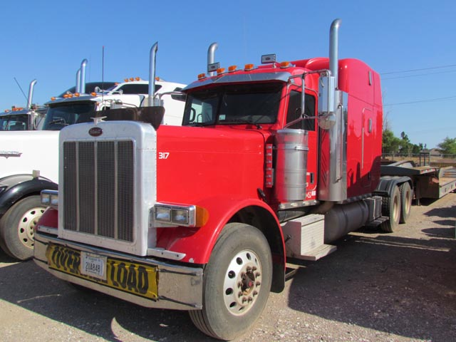 '07 PETE 379 T/A Truck Tractor – DY2 YD11