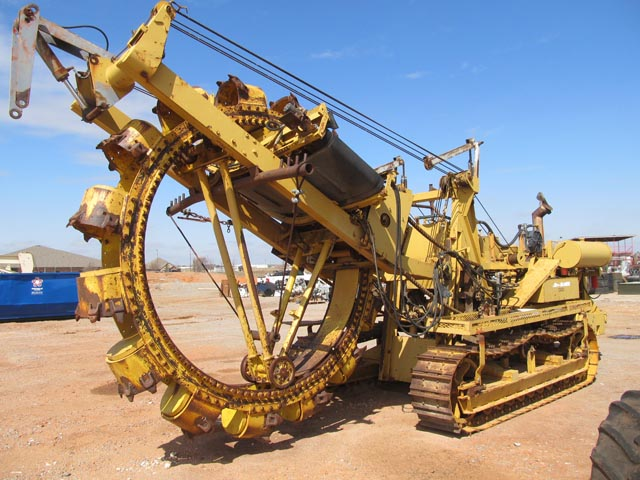 JETCO 7337-425 Crawler Bucket Wheel Trencher – DY2 YD2