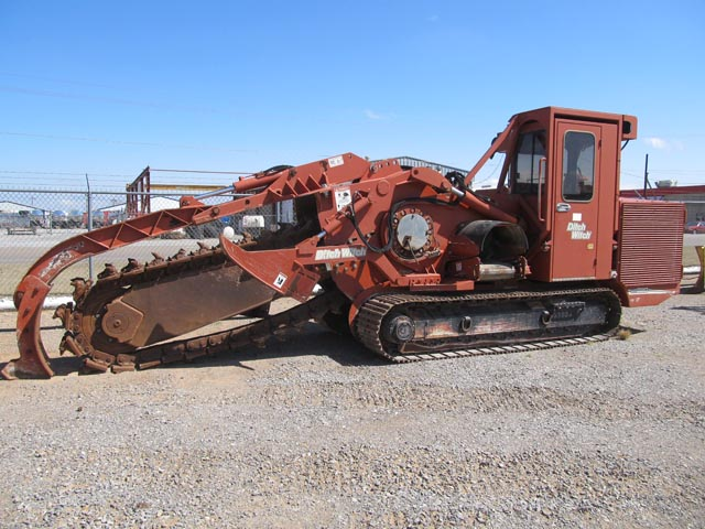 2008 DITCH WITCH CMWHT-220 Crawler/Chain Trencher – DY2 YD2