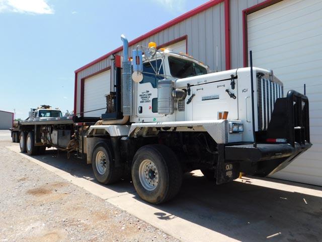 '12 KENWORTH C550 Twin Steer Rig-Up Pole Truck – DY2 YD11