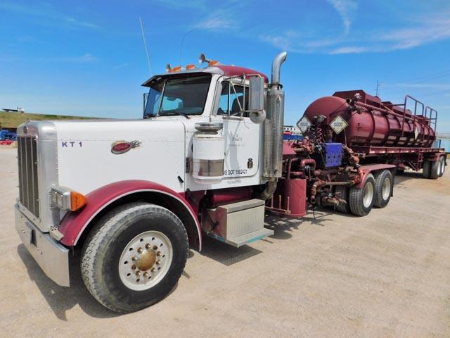 '01 PETE 379 Kill Truck & 130-Bbl Transport – DY3 YD1
