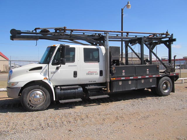 '07 Slick Line Wireline Truck – DY3 YD2